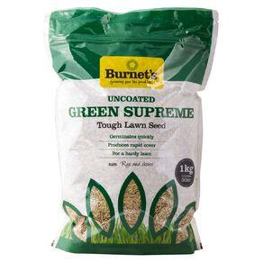 Burnet's Green Supreme Lawn Seed 1KG