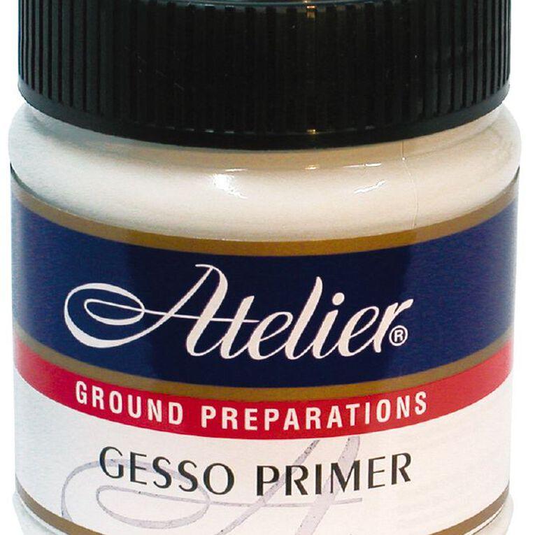 Atelier Gesso Primer 250ml White, , hi-res