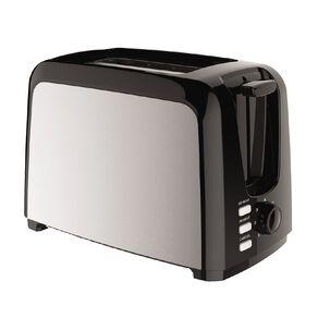 Living & Co Toaster Metal Side 2 Slice Black