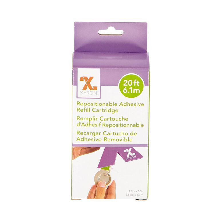 Xyron Sticker Maker 150 Cartridge Repositional Grey, , hi-res
