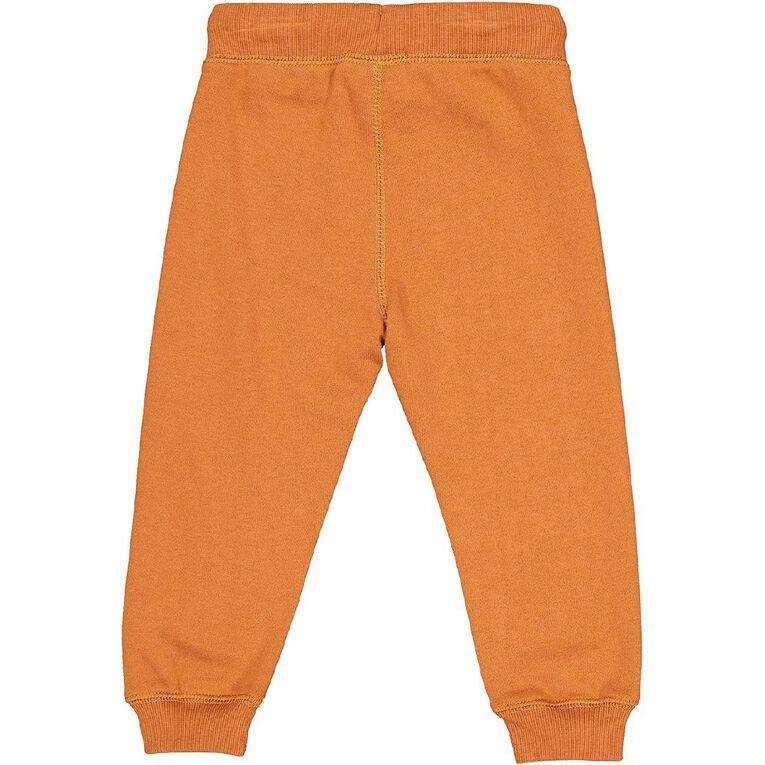 Young Original Toddler Printed Trackpants, Orange Mid, hi-res