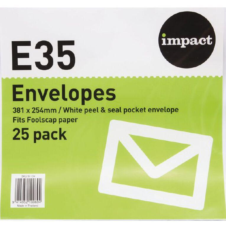 WS Envelope E35 Peal & Seal 25 Pack, , hi-res