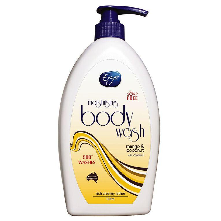 Enya Body Wash Mango & Coconut 1L, , hi-res