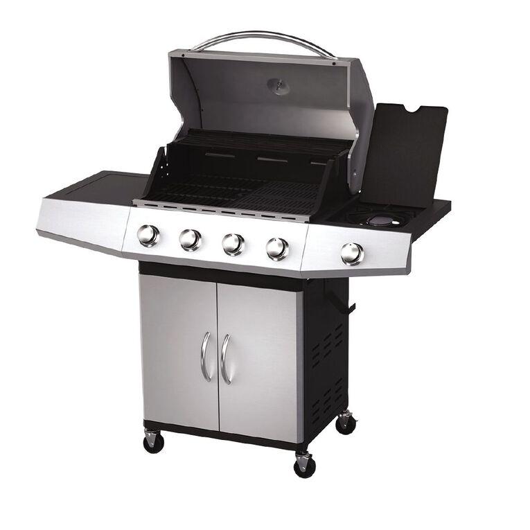 Gascraft Eldorado 4 Burner BBQ With Side Burner, , hi-res