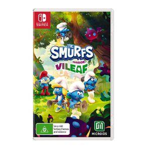 Nintendo Switch The Smurfs Mission Vileaf