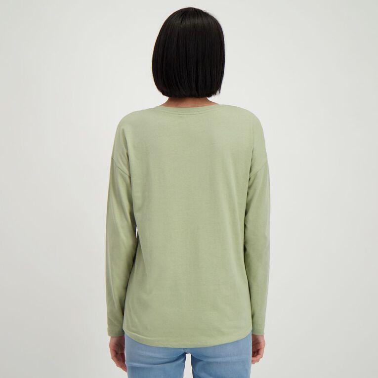 H&H Women's Long Sleeve, Green Light, hi-res