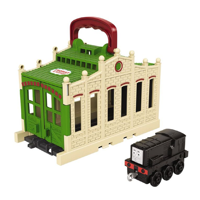 Thomas & Friends Fisher-Price Trackmaster Build Your Own Tidmouth Sheds, , hi-res