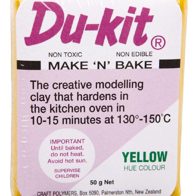 Du-kit Clay Yellow 50g, , hi-res