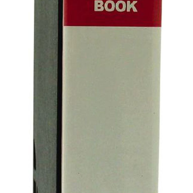 GBP Stationery Red 80 Pocket Display Book With Black Case A4, , hi-res
