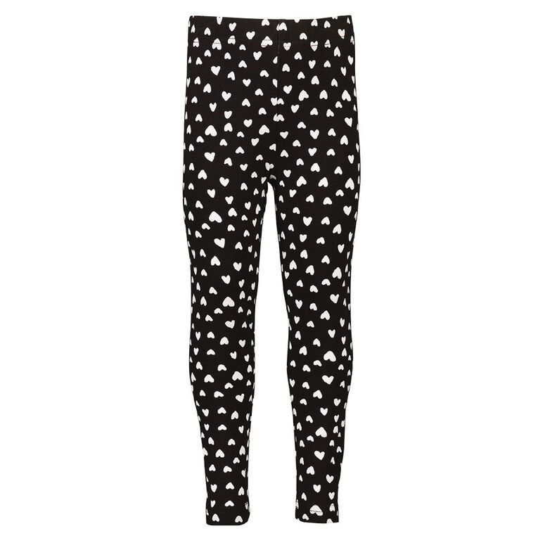 Young Original All Over Print Lilly Leggings, Black, hi-res