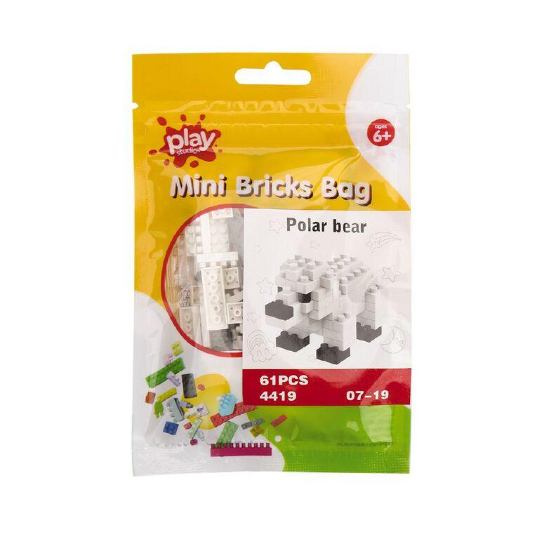 Play Studio Mini Bricks Bag Assorted, , hi-res