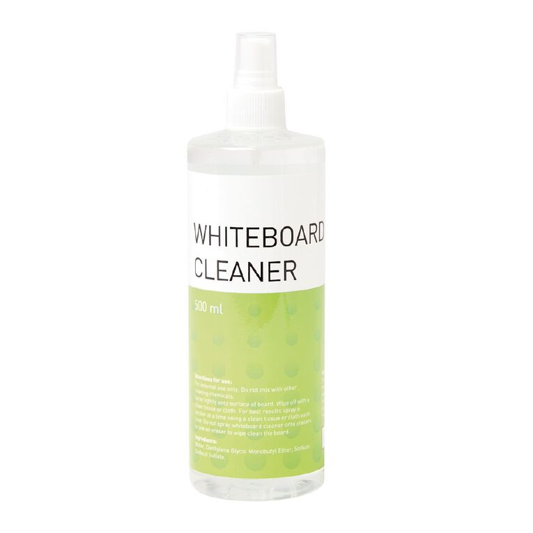 WS Whiteboard Cleaner Clear 500ml, , hi-res