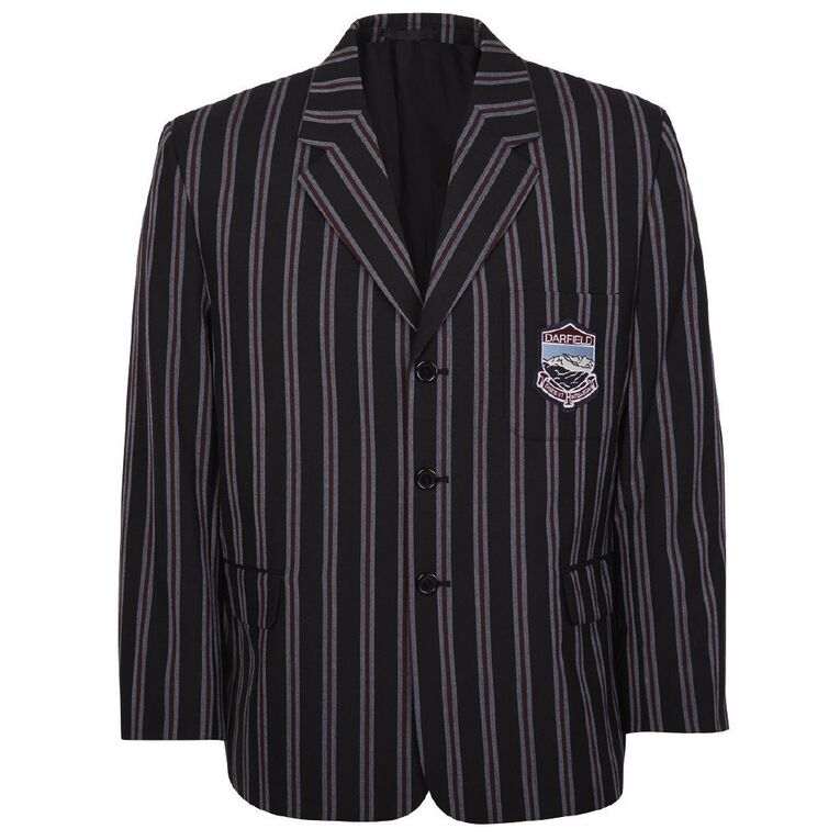 Schooltex Darfield High Boys' Blazer with Embroidery, Navy, hi-res