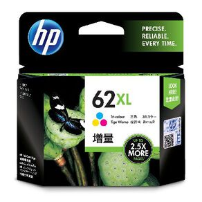HP Ink 62XL Colour (415 Pages)