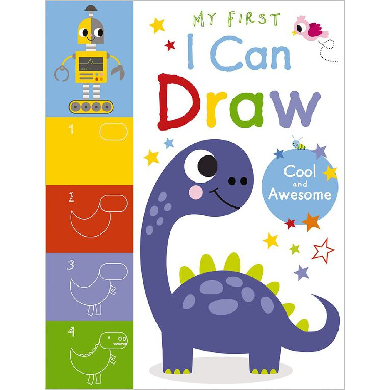My First I Can Draw Cool and Awesome by Amy Boxshall, , hi-res