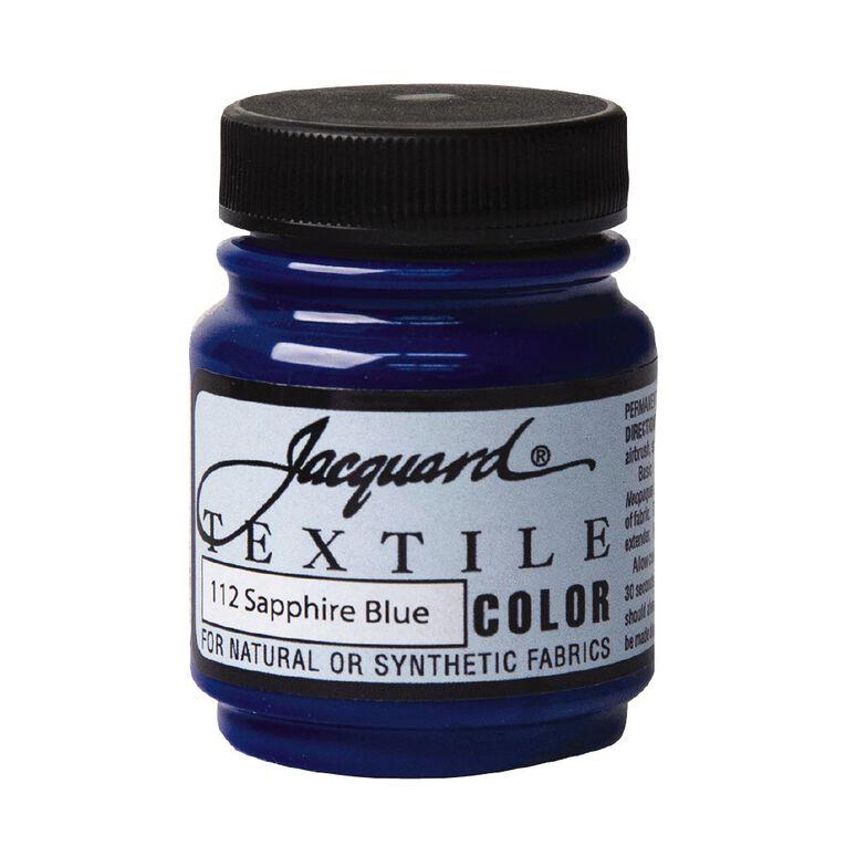 Jacquard Textile Colours 66.54ml Sapphire Blue, , hi-res