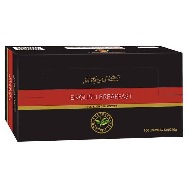 Lipton English Breakfast 100 Pack, , hi-res