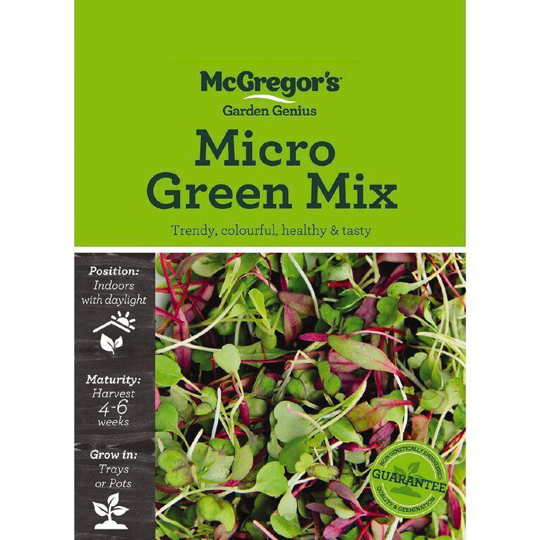 McGregor's Microgreen Mix Vegetable Seed, , hi-res