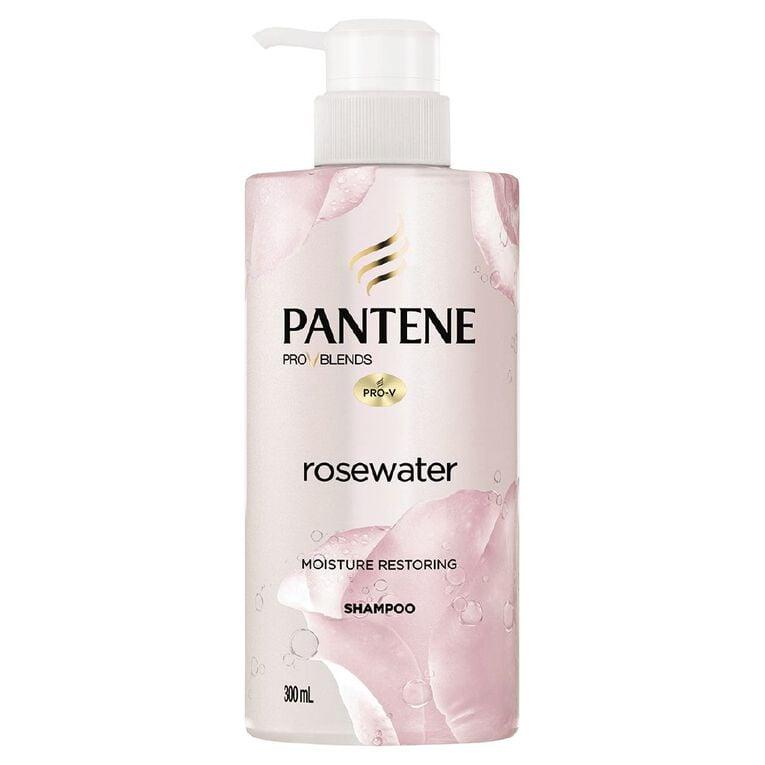 Pantene Micellar Water Rose Water Shampoo 300ml, , hi-res