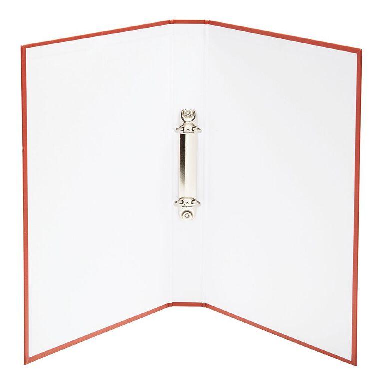 WS Ring Binder PVC Red A4, , hi-res
