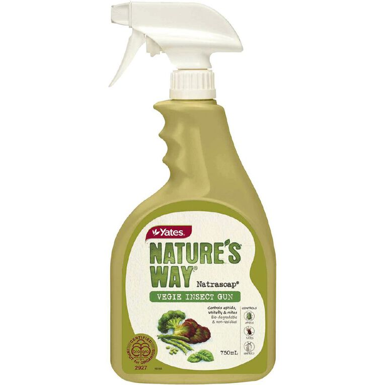 Yates Nature's Way Organic Vegie Ready To Use Insecticide 750ml, , hi-res