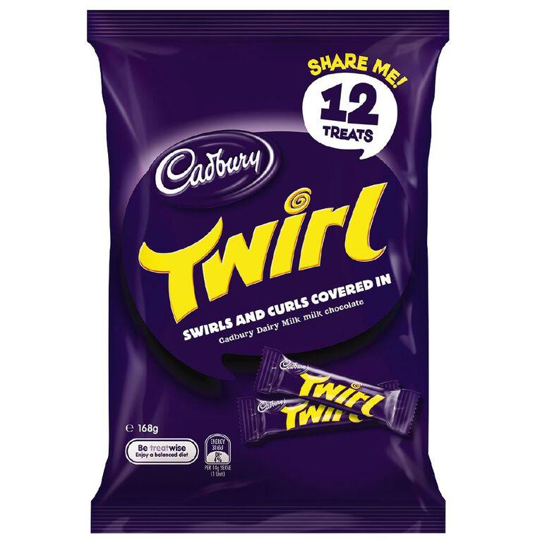 Cadbury Dairy Milk Twirl Sharepack 168g, , hi-res