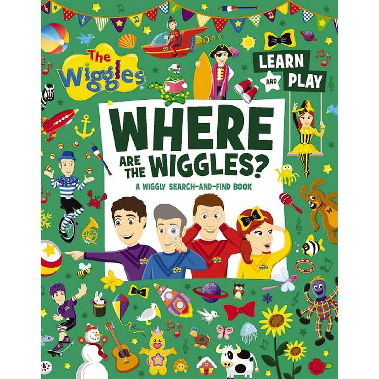 Where Are The Wiggles? by The Wiggles, , hi-res image number null