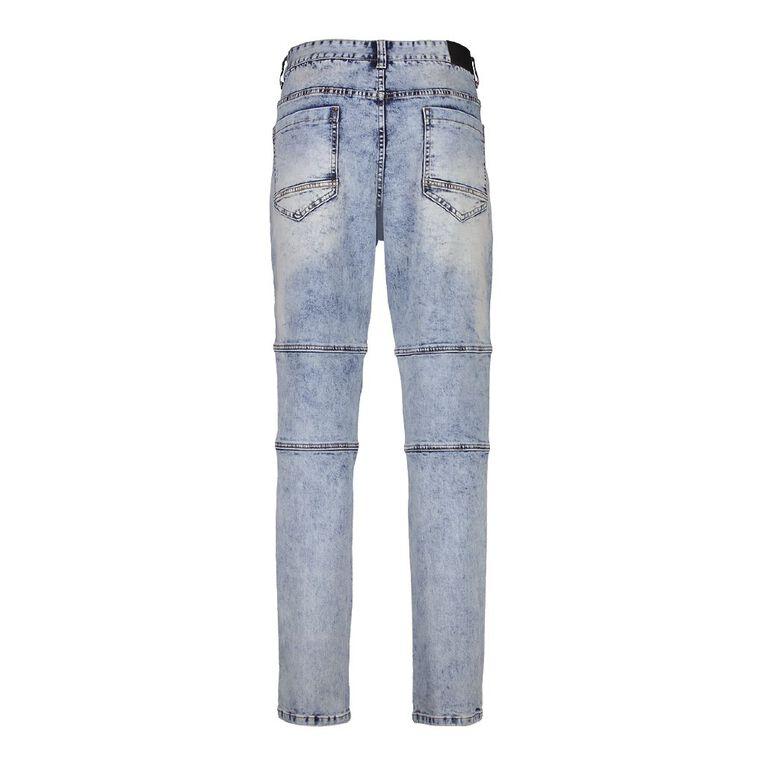 Garage Men's Knee Panel Denim Jeans, Denim Mid, hi-res