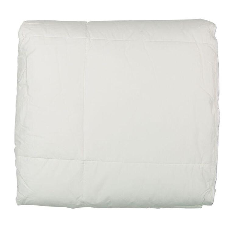Living & Co Duvet Inner All Season Down Alternative White Single, White, hi-res