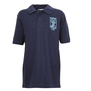 Schooltex St Alban's Short Sleeve Polo with Transfer