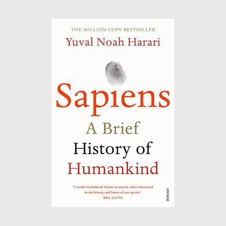 Sapiens: A Brief History of Humankind by Yuval Noah Harari, , hi-res
