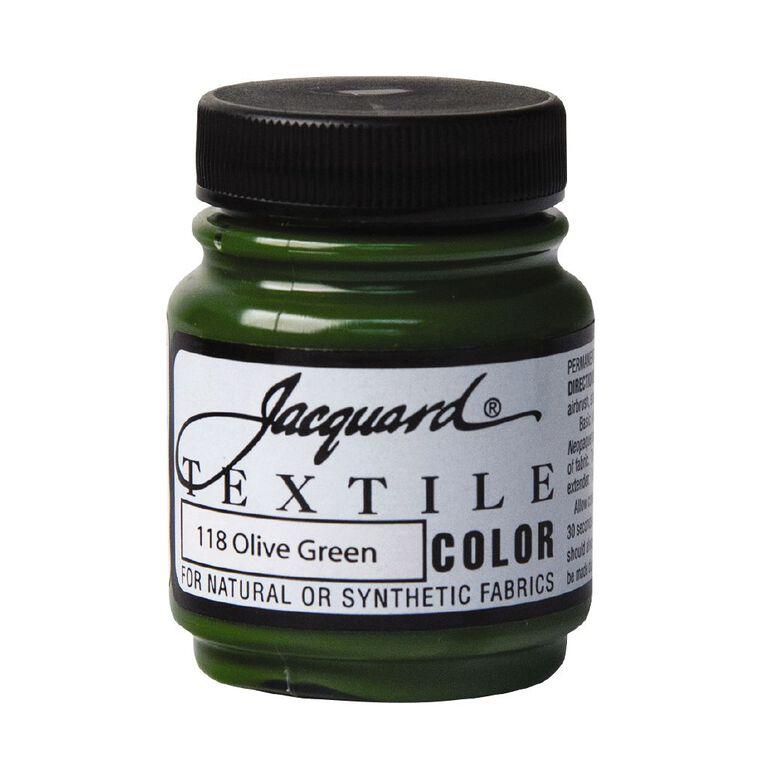 Jacquard Textile Colours 66.54ml Olive Green, , hi-res