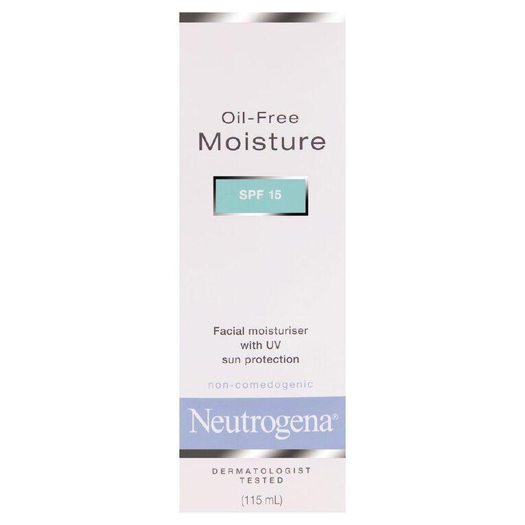 Neutrogena Moisturiser SPF15 115ml, , hi-res