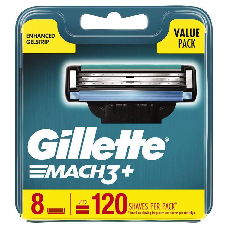 Gillette Mach3 Blades 8 Pack, , hi-res