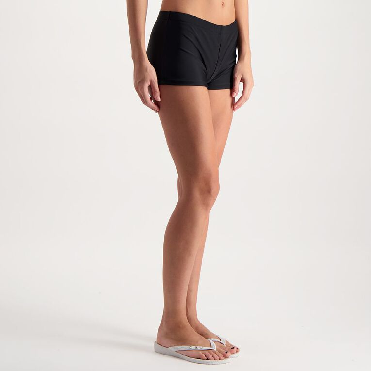 H&H Women's Boyleg Bottoms, Black, hi-res image number null