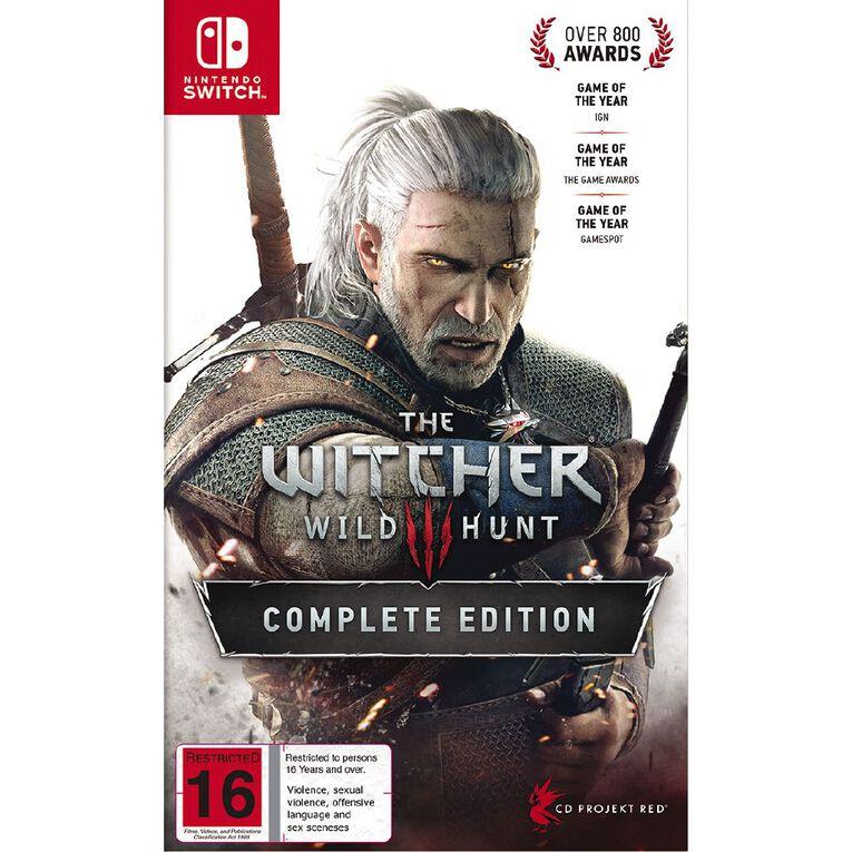 Nintendo Switch The Witcher 3: Wild Hunt, , hi-res