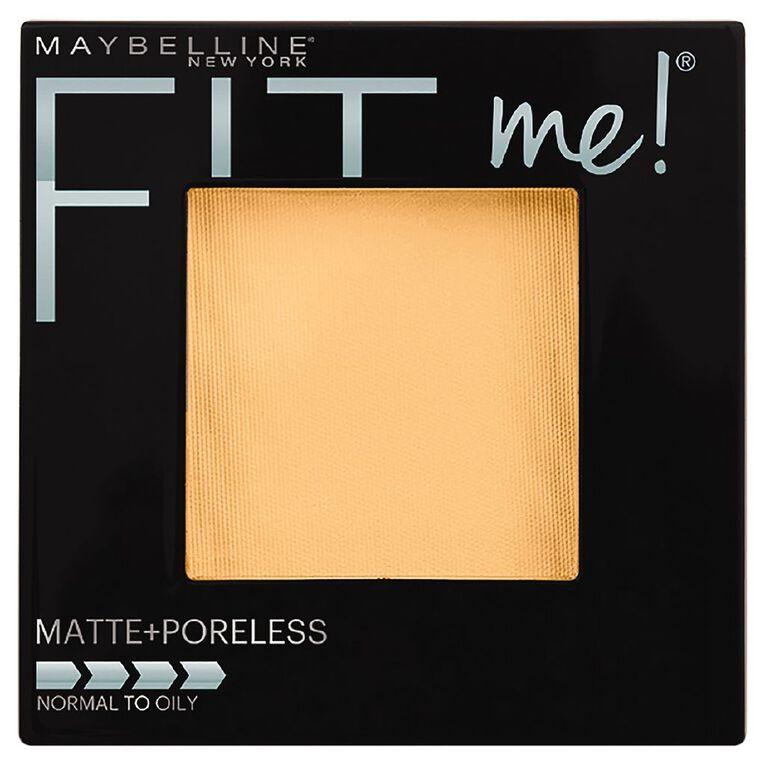 Maybelline Fit Me Matte + Poreless Powder Buff Beige 130, , hi-res