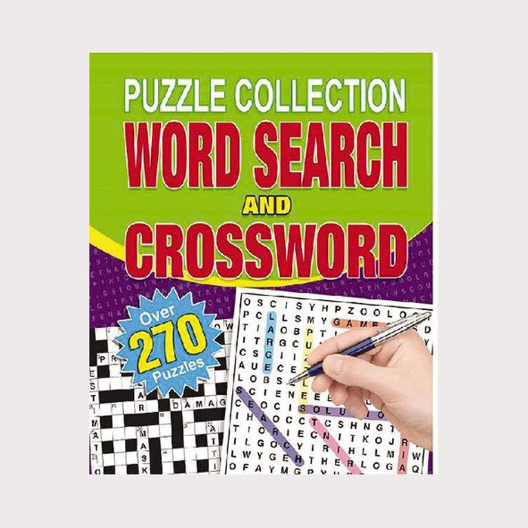 Puzzle Collection Wordsearch & Crossword Spiral 256 page, , hi-res image number null