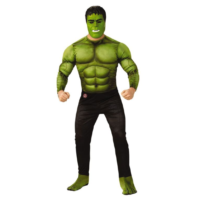 Marvel Hulk Deluxe Avengers 4 Adult Costume - Size XL, , hi-res