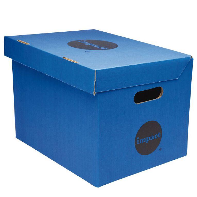 Impact Archive Box Blue, , hi-res