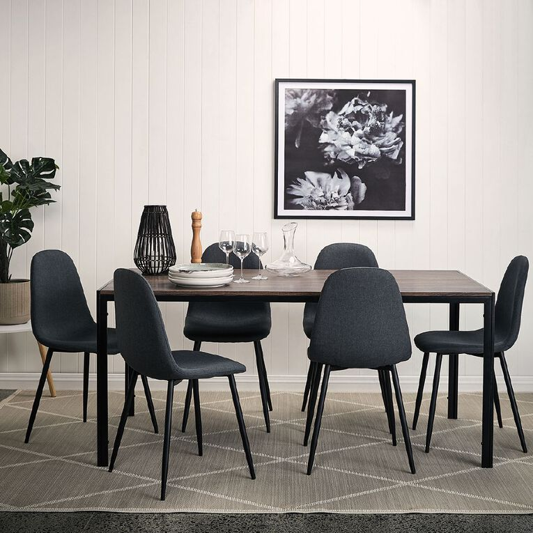 Living & Co Ainsley 7 Piece Dining Suite, , hi-res