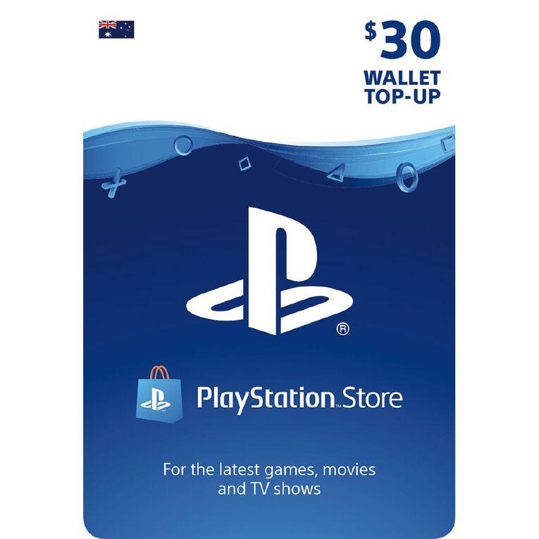 Sony PlayStation $30 Wallet Top-up, , hi-res