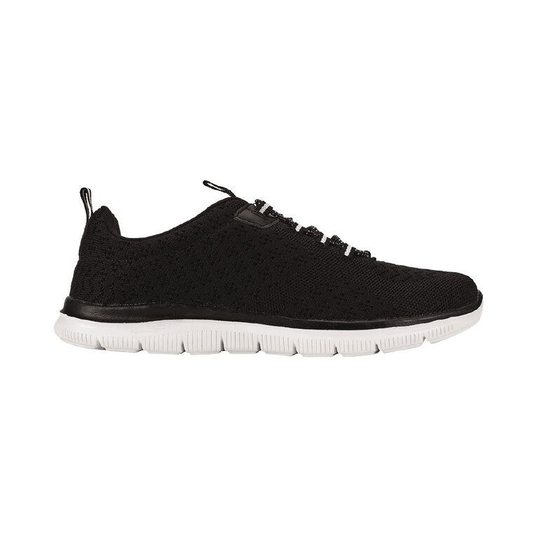 H&H Womens' Malobo Shoes, Black/White, hi-res