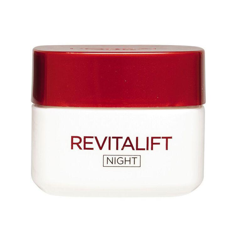 L'Oreal Paris Revitalift Night Cream 50ml, , hi-res