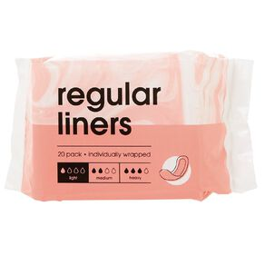 Panty Liners 20 Pack