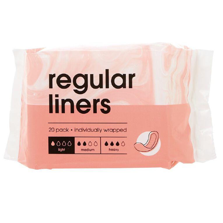 Panty Liners 20 Pack, , hi-res