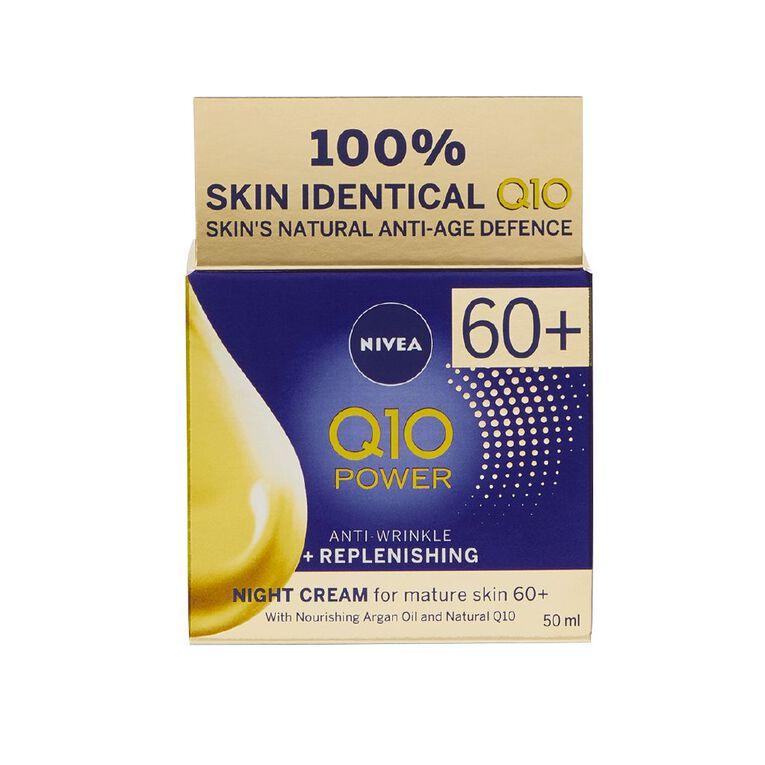 Nivea Q10 Power Mature Night Cream 50ml, , hi-res