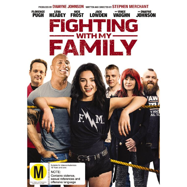 Fighting With My Family DVD 1Disc, , hi-res