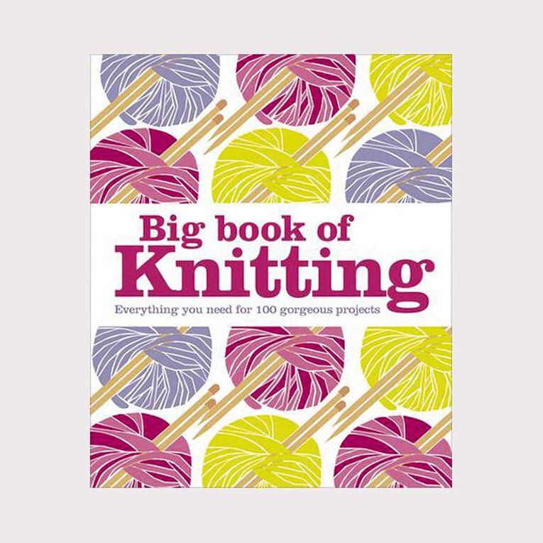 DK: Big Book of Knitting N/A, , hi-res