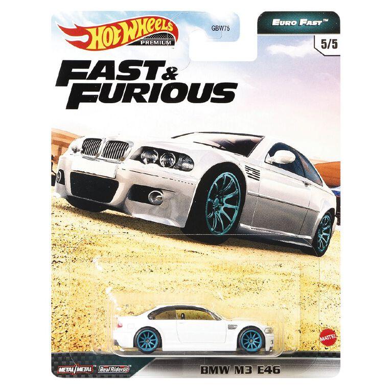 Hot Wheels Fast & Furious Fast & The Furious Premium Single Assorted, , hi-res